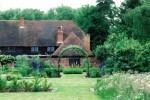 Barn with garden