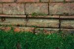 Brick drainage channel