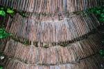 Old tile steps